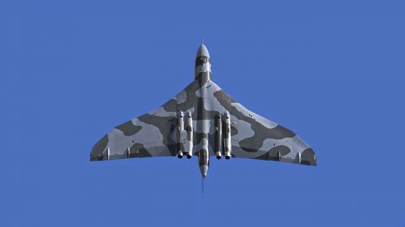 Avro Vulcan, bomber, Royal Air Force, 5k (horizontal)