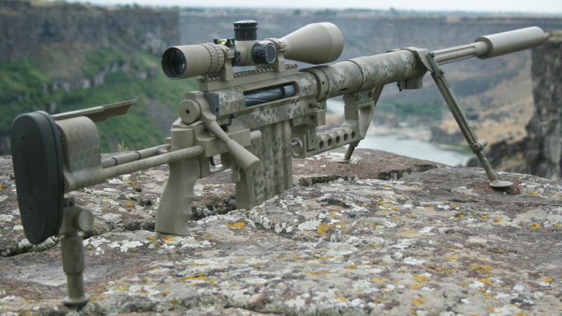 m200, CheyTac, Intervention, .408 Chey Tac, sniper rifle, scope, mountain (horizontal)