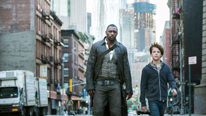The Dark Tower, Idris Elba, Nicholas Hamilton, 4k (horizontal)