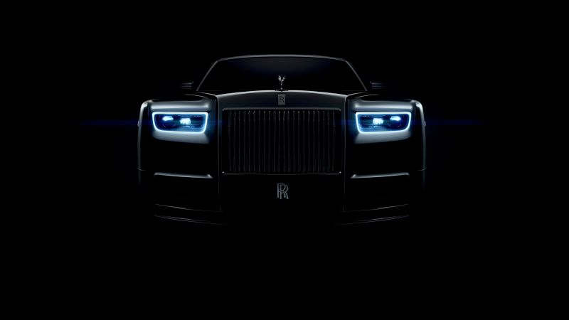 Rolls-Royce Phantom, cars 2018, 4k (horizontal)