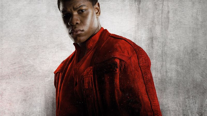 Star Wars: The Last Jedi, John Boyega, 8k (horizontal)