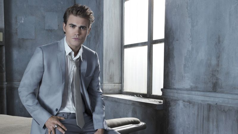 Paul Wesley, photo, 4k (horizontal)