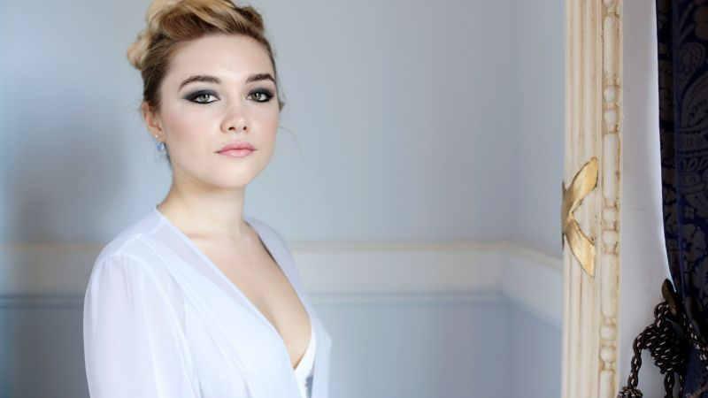Florence Pugh, photo, 5k (horizontal)