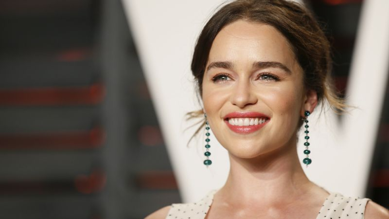 Emilia Clarke, beauty, 4k (horizontal)