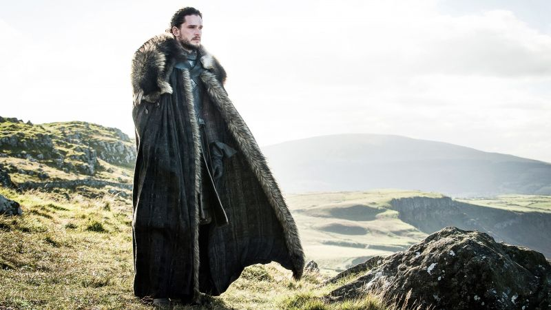 Game of Thrones, Jon Snow, Kit Harington, TV Series, 4k (horizontal)