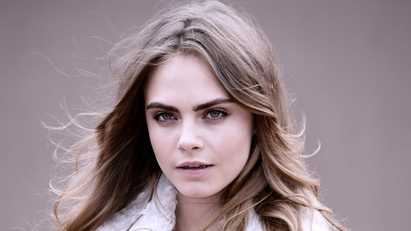 Cara Delevingne, beauty, HD (horizontal)