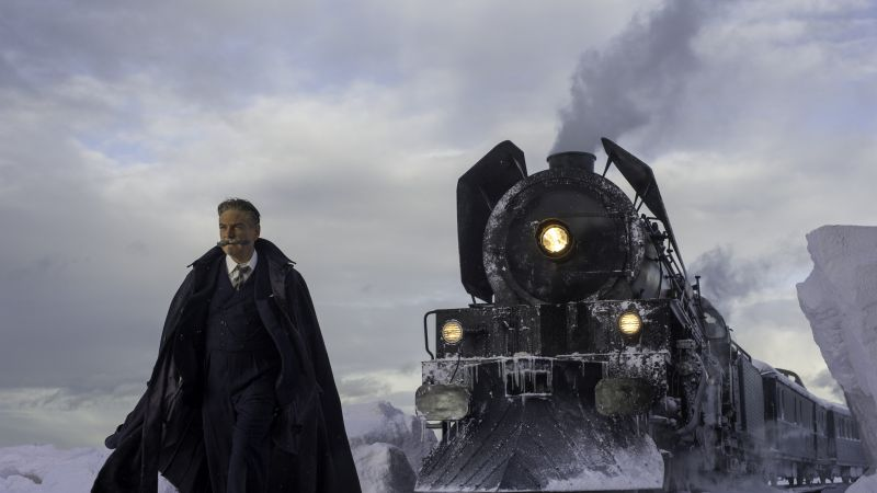 Murder on the Orient Express, Kenneth Branagh, 4k (horizontal)