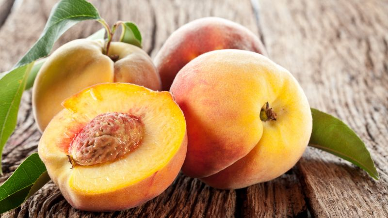 peach, delicious, 5k (horizontal)
