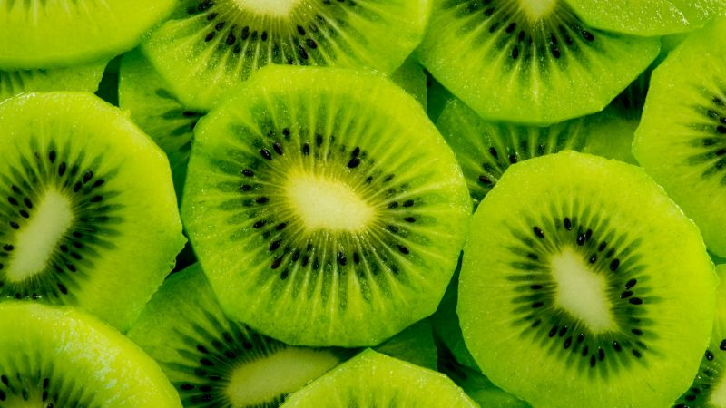 kiwi, fruit, 4k (horizontal)