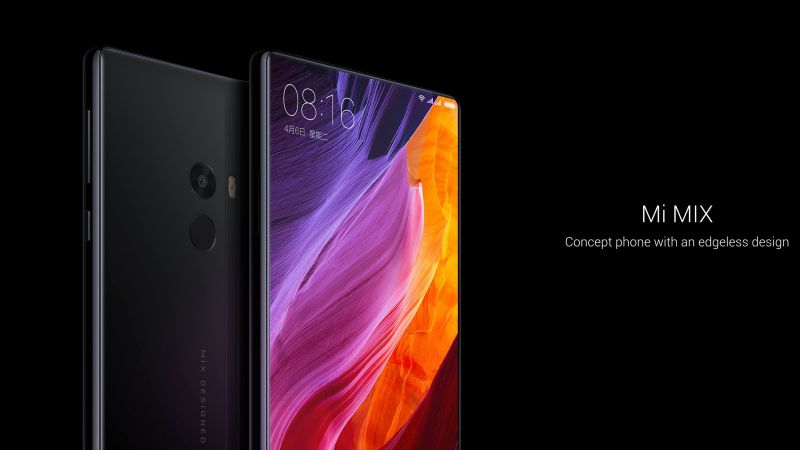 Xiaomi Mi Mix, black, HD (horizontal)
