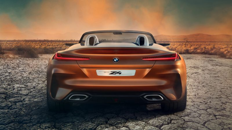 BMW Z4, Roadster, Cars 2018, 4k (horizontal)