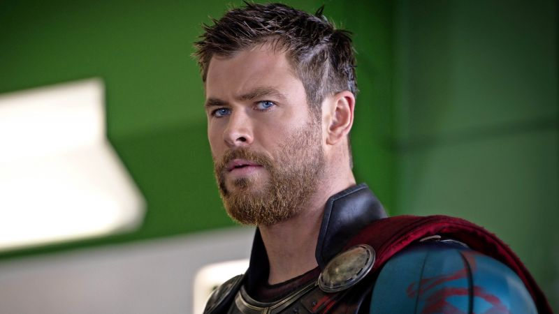 Thor: Ragnarok, Chris Hemsworth, 4k (horizontal)