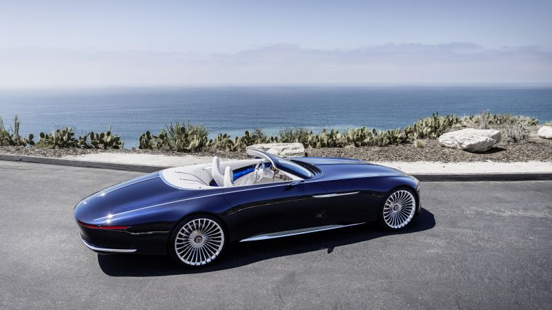 Mercedes-Maybach 6, electric cars, 8k (horizontal)