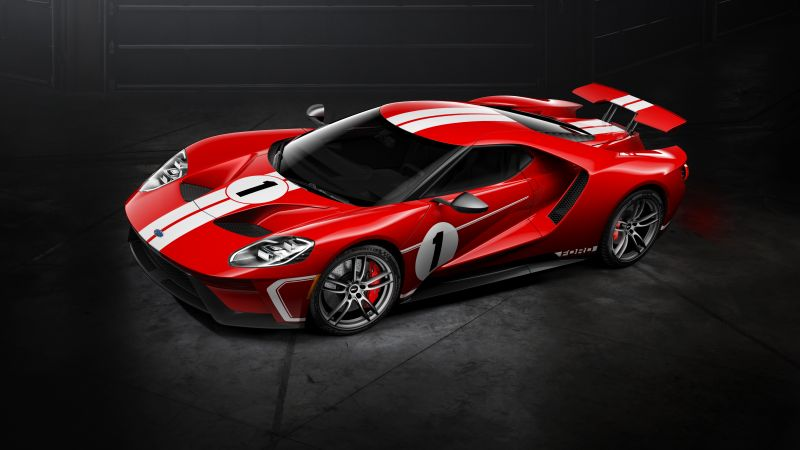 Ford GT '67 Heritage Edition, Cars 2018, 4k (horizontal)