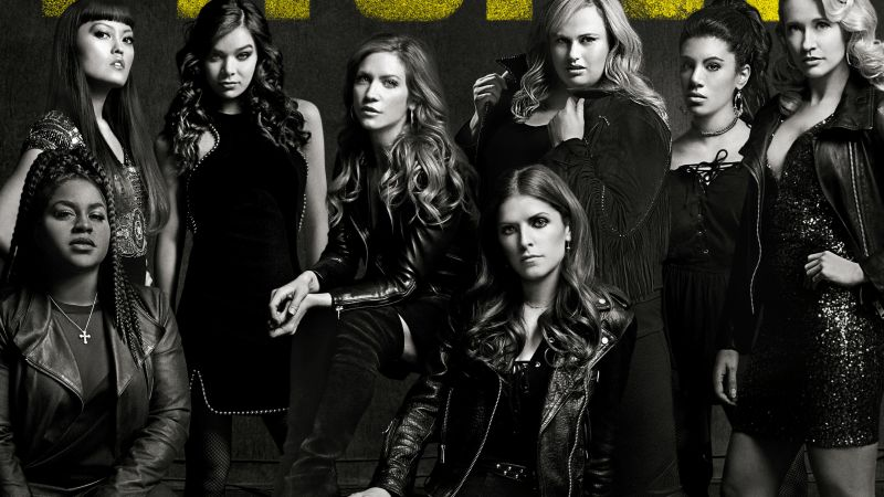 Pitch Perfect 3, Anna Kendrick, Rebel Wilson, Hailee Steinfeld, 4k (horizontal)