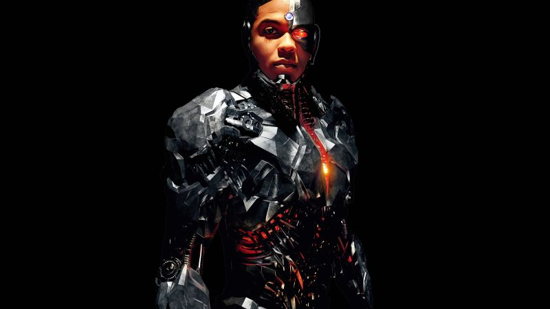Justice League, Cyborg, Ray Fisher, 4k (horizontal)