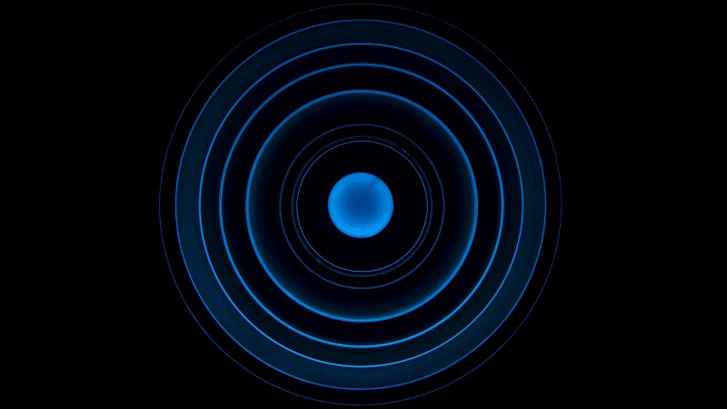 wallpaper circle abstract black 4k abstract 15558