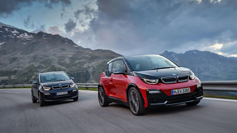 BMW i3s, electric car, 2018 Cars, 4k (horizontal)