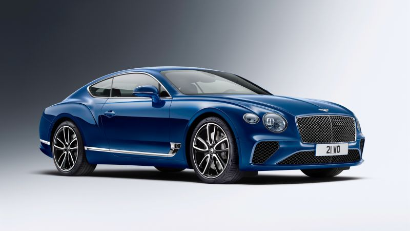 Bentley Continental GT, cars 2017, 4k (horizontal)