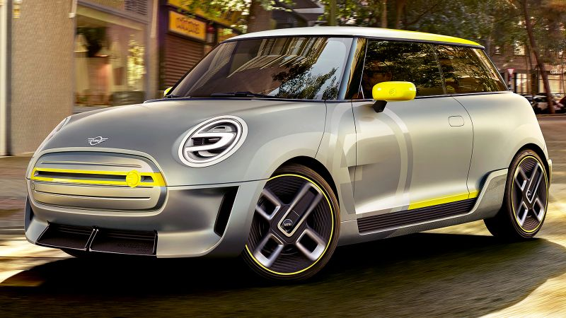 Mini Electric, electric car, 5k (horizontal)