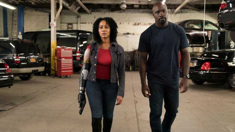 Luke Cage, Mike Colter, Simone Missick, TV Series, HD (horizontal)