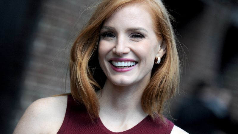 Jessica Chastain, beauty, HD (horizontal)
