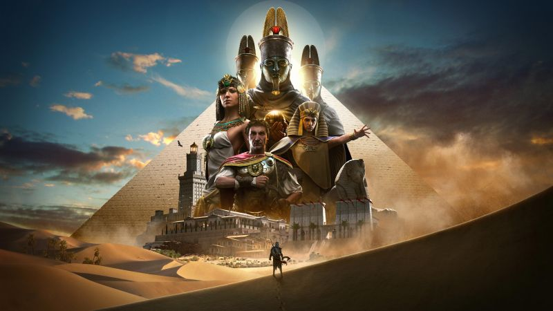 Assassin's Creed Origins, 8k, E3 2017, poster (horizontal)