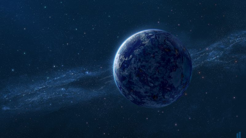 planet, blue, HD (horizontal)
