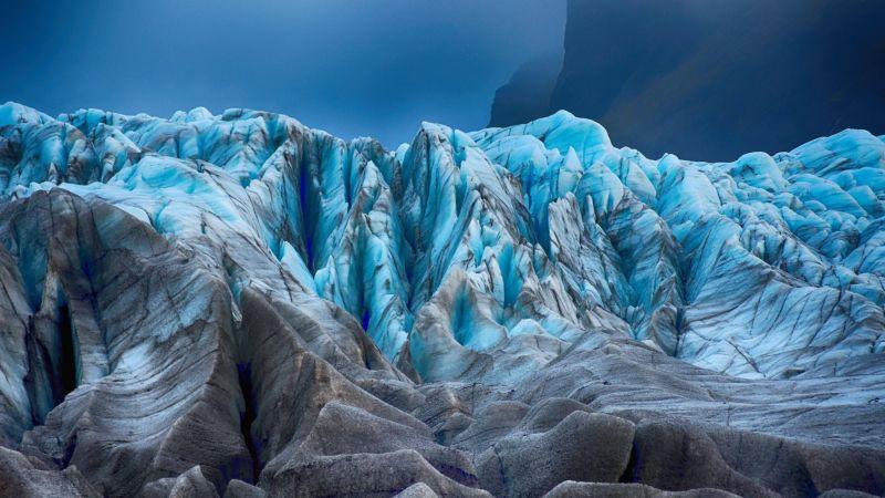Wallpaper glacier, 4k, 5k wallpaper, 8k, ocean, ice, water ...