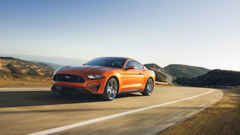 Ford Mustang, 2018 Cars, 4k (horizontal)