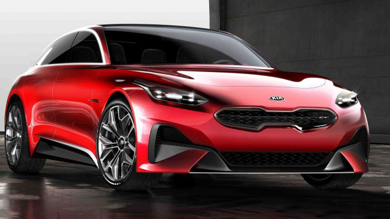 Kia Proceed, electric car, 5k (horizontal)
