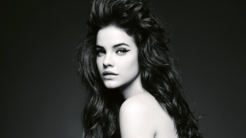 Barbara Palvin, model, look, white, black, brunette, hair, cute (horizontal)
