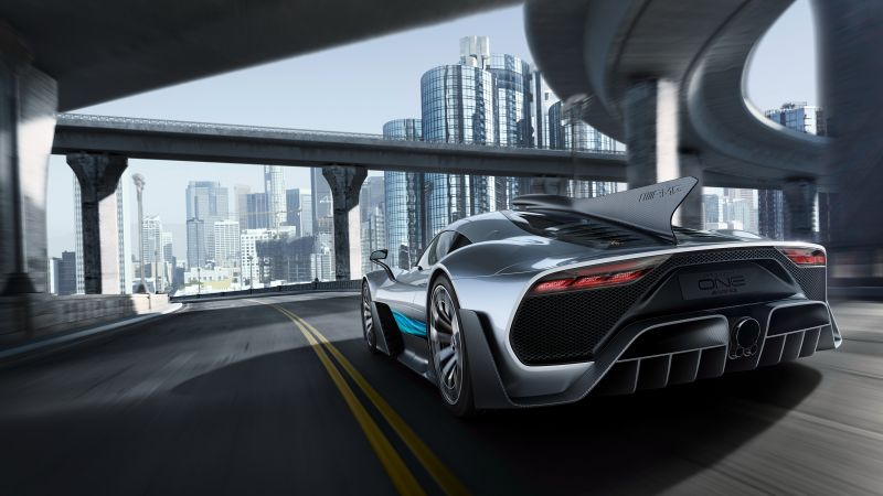 Mercedes-AMG Project One, hypercar, 5k (horizontal)