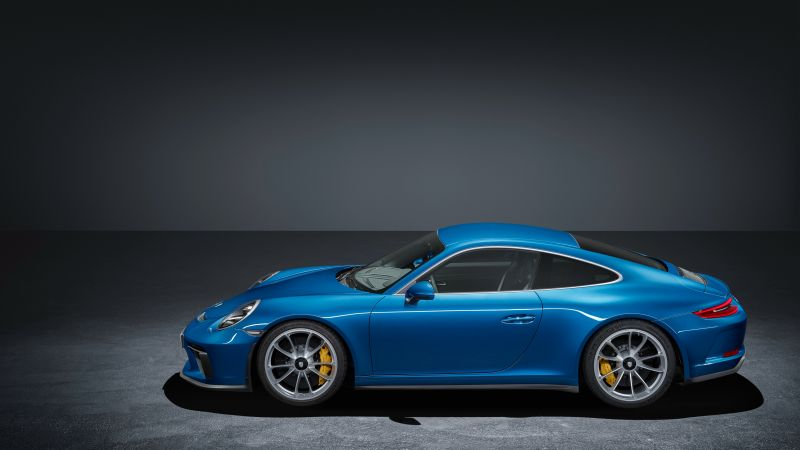 Porsche 911 GT3 Touring Package, 2018 Cars, 4k (horizontal)