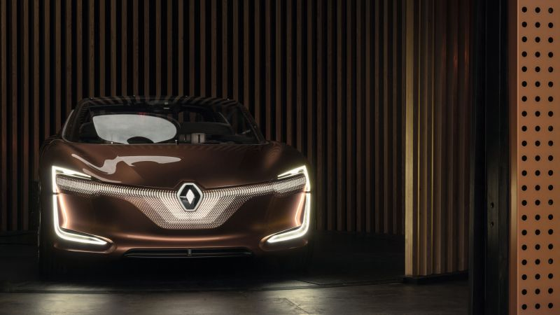 Renault Symbioz, electric car, 4k (horizontal)