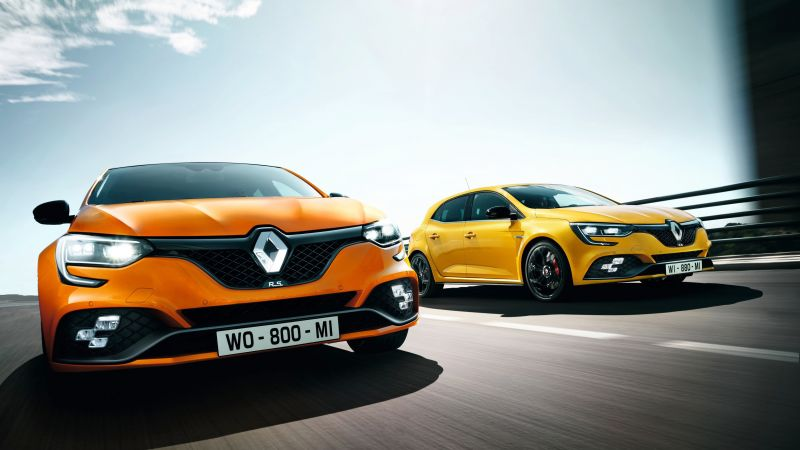 Renault Megane RS, 2018 Cars, 4k (horizontal)