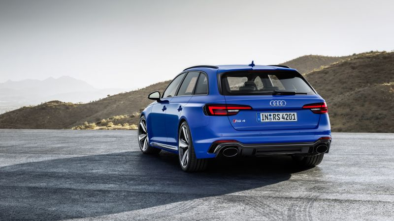 Audi RS4 Avant, 2018 Cars, 4k (horizontal)
