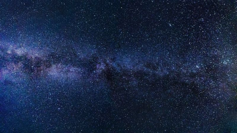 milky way, stars, 5k (horizontal)