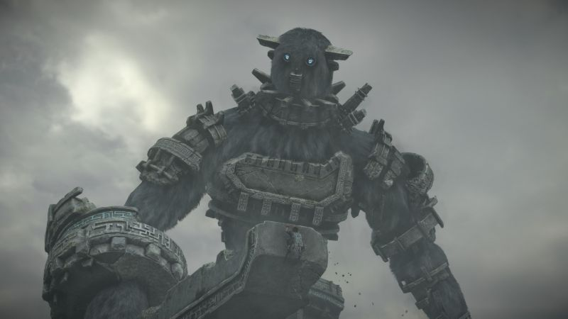 Shadow of the Colossus 2, Tokyo Game Show 2017, screenshot, 4k (horizontal)