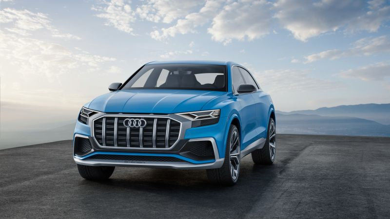 Audi Q8, 2018 Cars, 4k (horizontal)