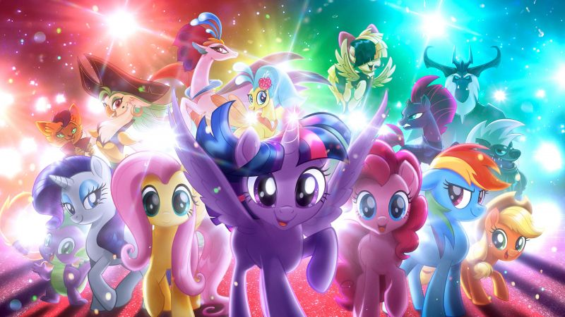 My Little Pony: The Movie, 4k (horizontal)
