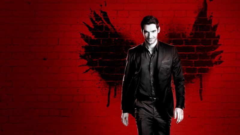 Lucifer Season 3, Tom Ellis, TV Series, 4k (horizontal)