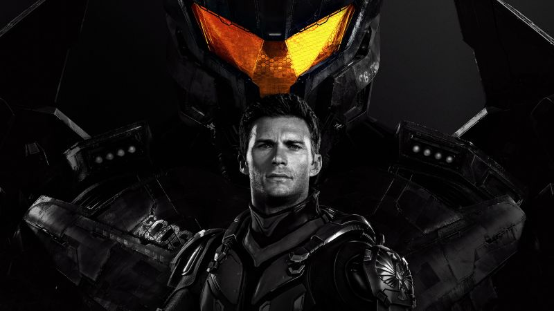 Pacific Rim: Uprising, Scott Eastwood, 4k (horizontal)