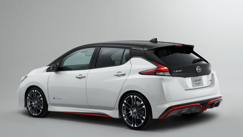 Nissan Leaf Nismo, electric car, 4k (horizontal)