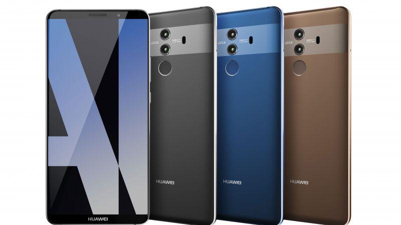 Huawei Mate 10, 4k (horizontal)
