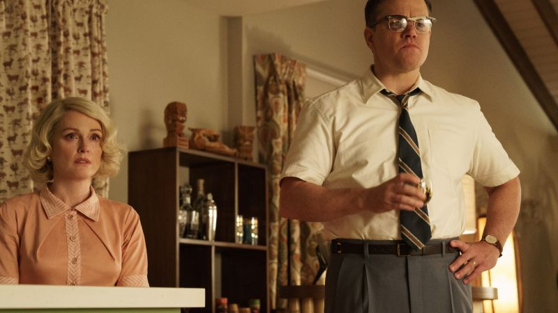 Suburbicon, Matt Damon, Julianne Moore, 4k (horizontal)