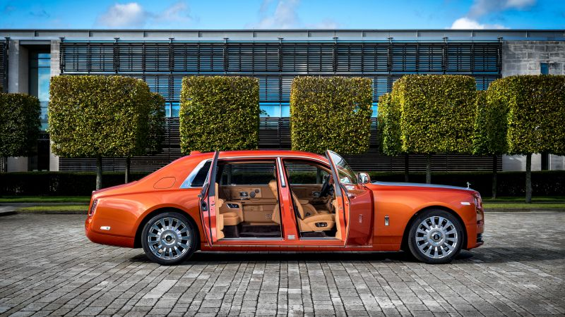 Rolls Royce Phantom EWB, cars 2017, 4k (horizontal)