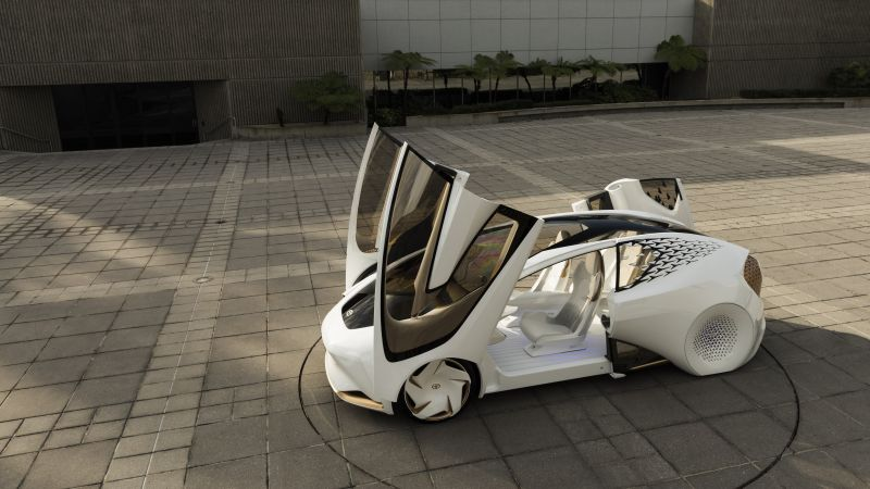 Toyota Concept-i, electric car, 5k (horizontal)