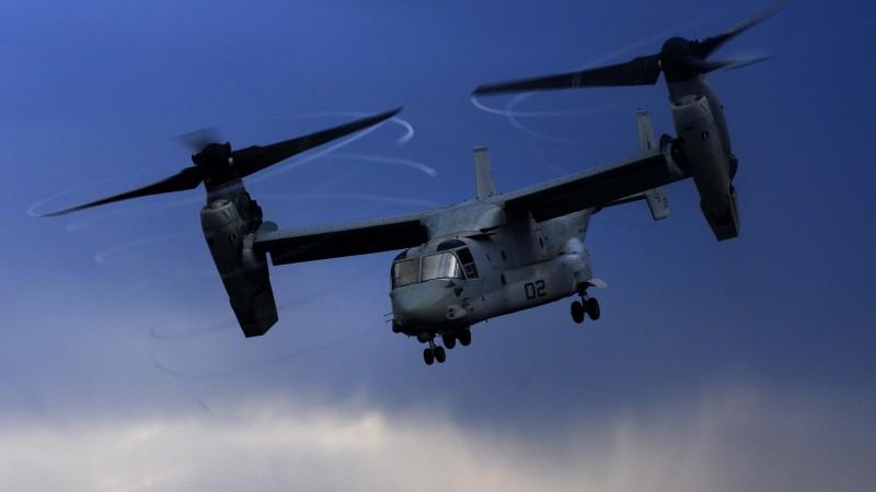 Wallpaper V-22 Osprey, tiltrotor, multi-mission aircraft ...