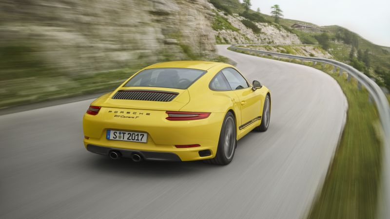 Porsche 911 Carrera T, 2018 Cars, 5k (horizontal)